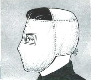 Противопыльная тканевая маска