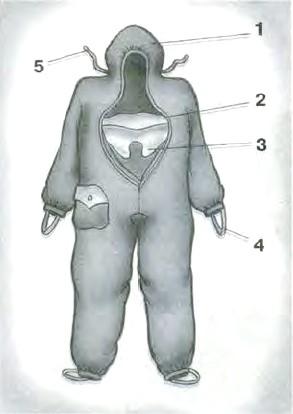 Комбинезон защитной фильтрующей одежды