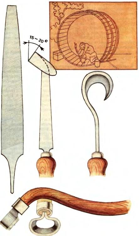 Бондарный инструмент своими руками 46