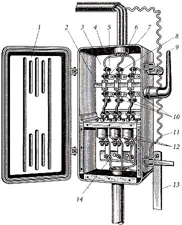 Общий вид вводного устройства