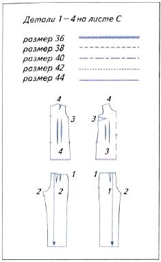 выкройка швейного изделия